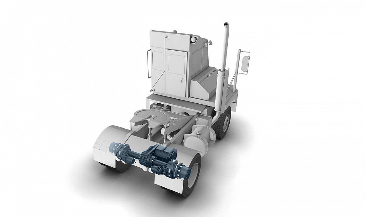 Electric vehicles off highway axletech for Electric motor parts near me